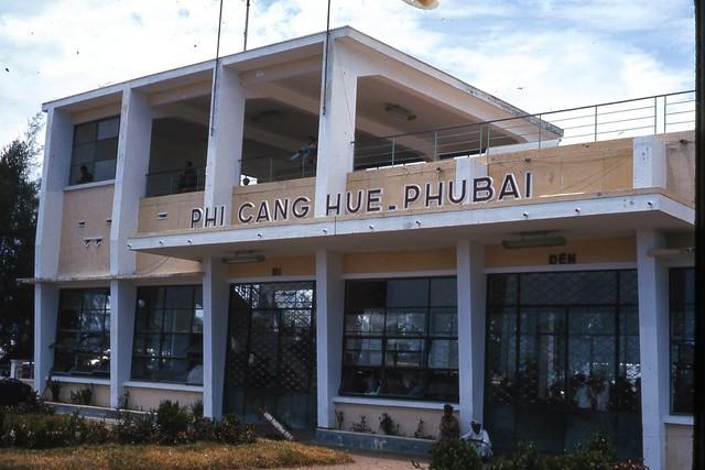 Hue 1966 - Phu Bai Int Airport Admin Bld