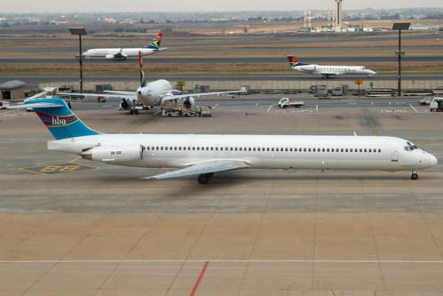 Hewa Bora Airlines 9Q-COZ @ Johannesburg Airport (JNB/FAJS)