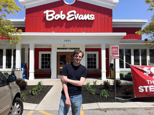Me at Bob Evans Battle Creek