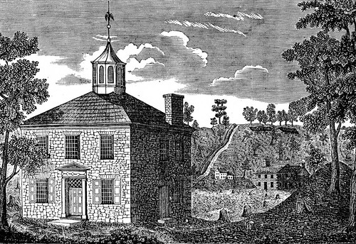 Chillicothe Courthouse, Etc., in 1801