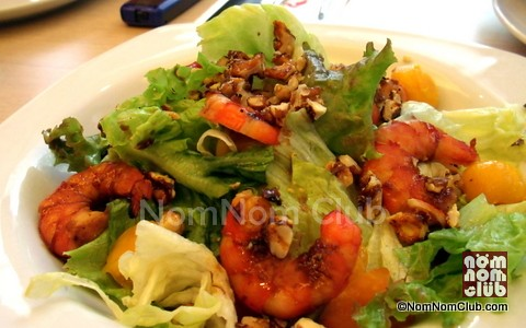 Sumo Sam Hot Prawn Salad