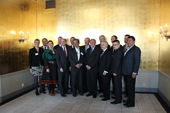 A group picture of the Deputy Ministers and PP Head of Delegeation was taken during the break