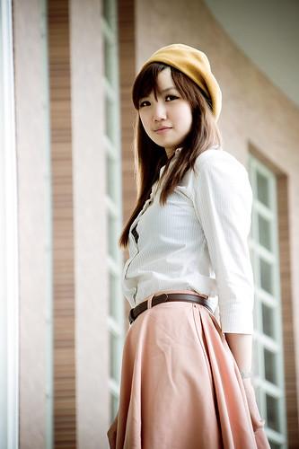 [フリー画像素材] 人物, 女性 - アジア, シャツ・ブラウス, 台湾人 ID:201207180800