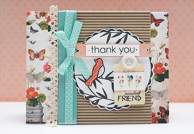 FUSE thank you card