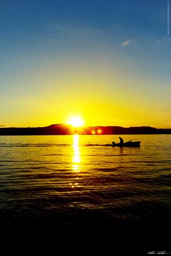 sunset sea sun water canon boot boat meer wasser insel sonne krk sonnuntergang istrien kroatiencroatia peterfoto eos550d peterpirker