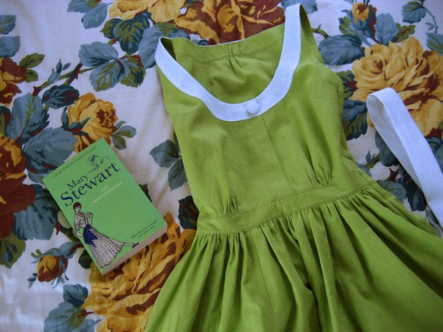 The Moon-Spinners Green Dress