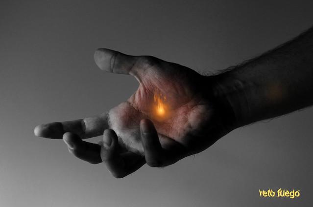 243/366: reto fuego