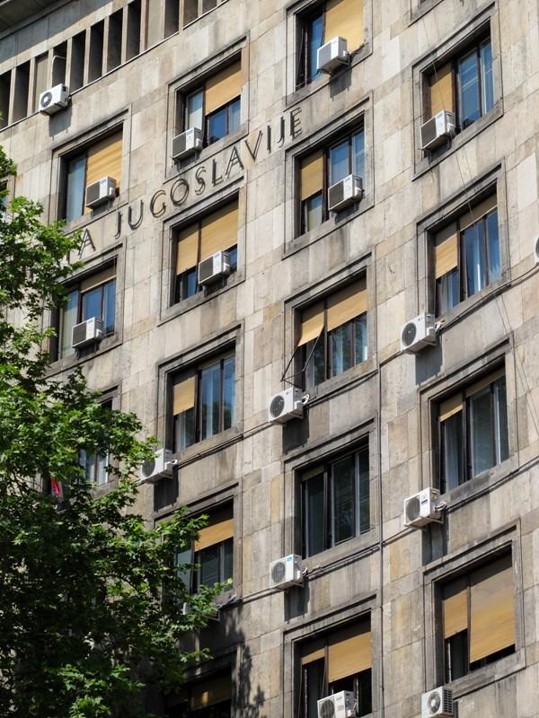 Immeuble nostalgique@Belgrade