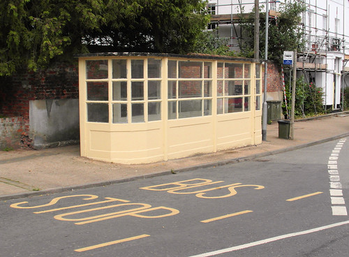 Eye Bus Shelter by The original SimonB