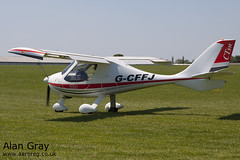 G-CFFJ P AND M AVIATION FLIGHT DESIGN CT SW 07-12-10 120527 - AeroExpo-Sywell - Alan Gray -IMG_0123