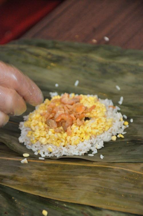 step 4 dry shrimp