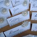 25th Anniversary Placecards