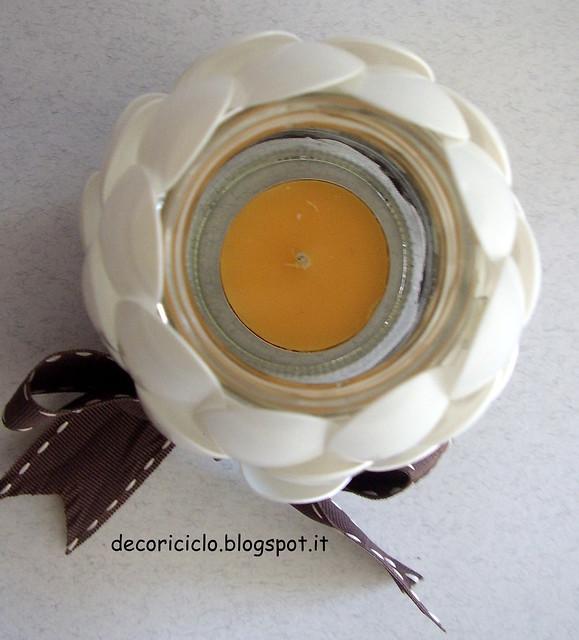 lanterna barattolo di vetro e cucchiaini di plastica 2