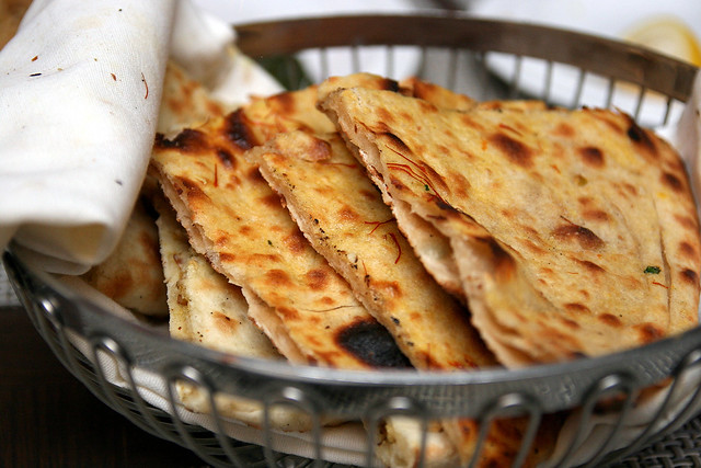 Wow, saffron paratha and Kashmiri breads