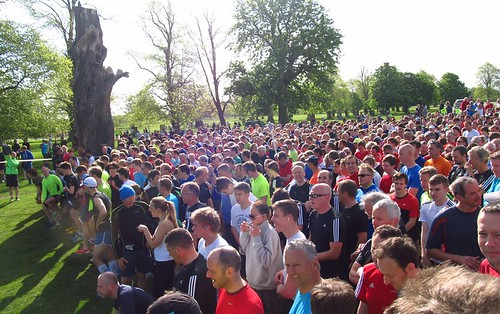 1127 runners ready to go for Bushy parkrun #514