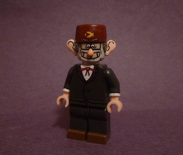 Custom Lego Gravity Falls: Grunkle Stan