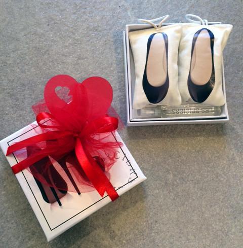 sacchettini profumati per scarpe