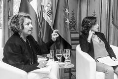Sonia Montecino y Rosa Rivas