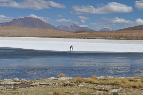 mountain lake berg lago see bolivia montaña heimlich lagunahedionda lagunasdecolores