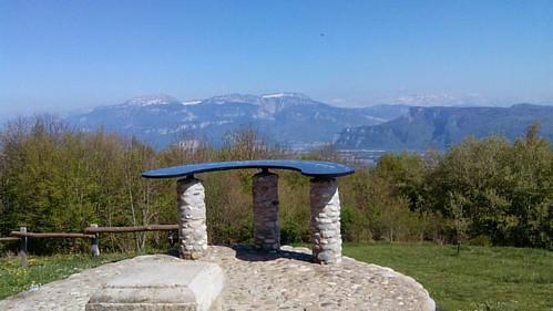 Table d'orientation à Parménie.   #vue #panorama #belvedere #Isère