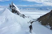 Patagonia. Continental Ice, Aufstieg zum Cerro Mariano Moreno. Foto: Günther Härter.
