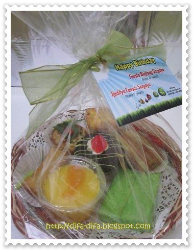 Goodie bag Fafa-Raya by DiFa Cakes