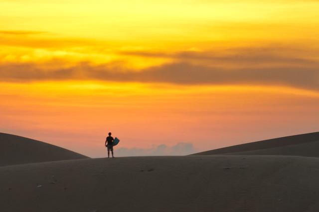 The sand slider I