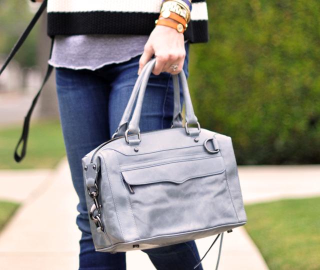 gray rebecca minkoff bag