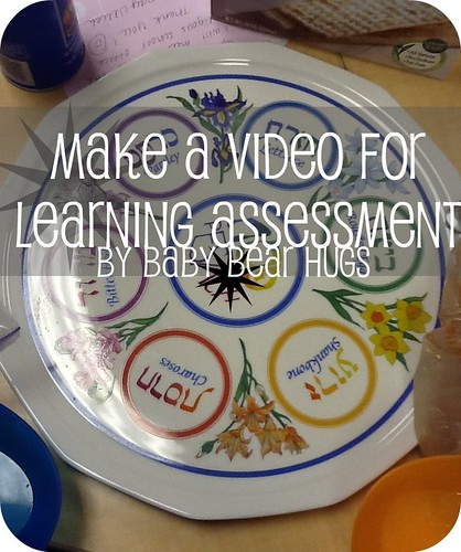seder plate make a video for learning assesment