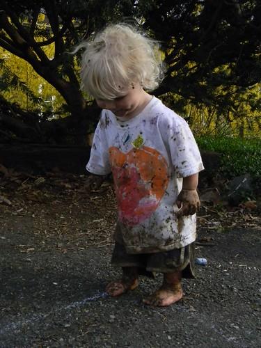 one muddy babe