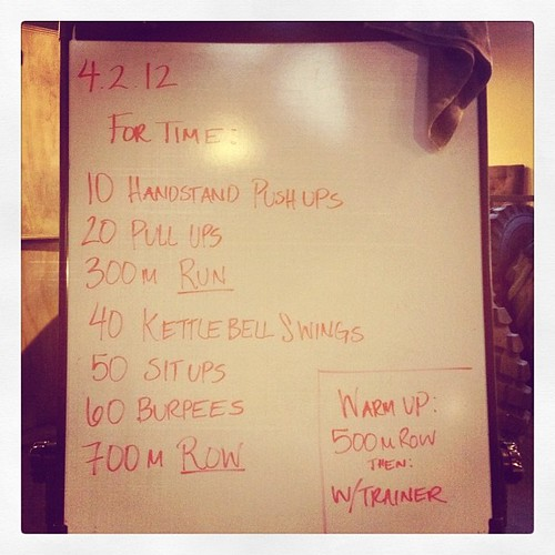 Who's up for some burpees this morning? #wod #crossfit