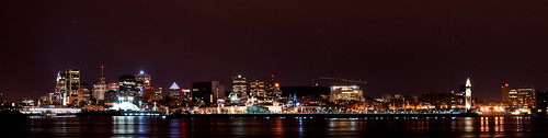 Montreal Old Port and Skyline