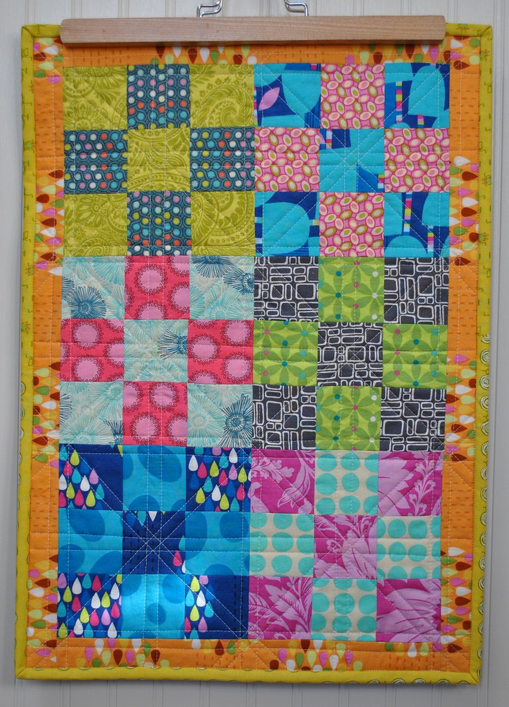 Coffee Table Mini Quilt