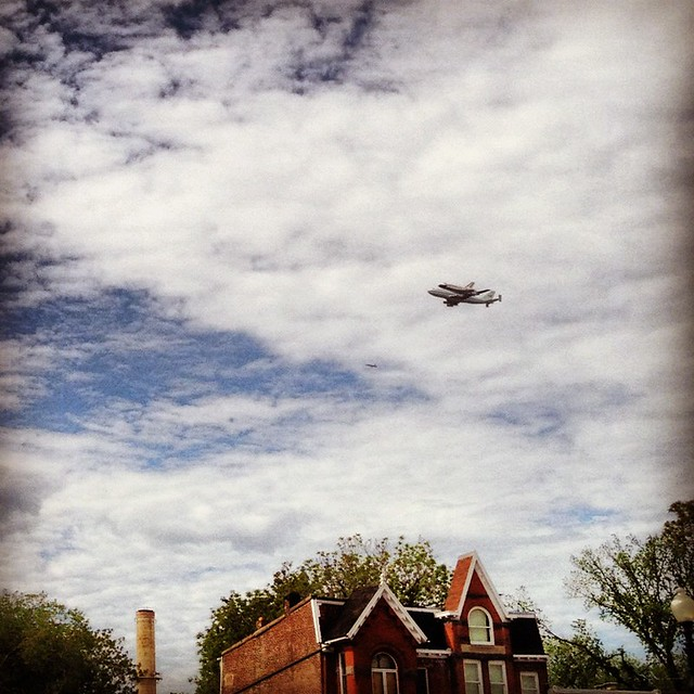Discovery Buzzes Capitol Hill
