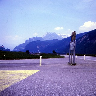Austria   -   Castle Kufstein (way to the left!)  -   June 1970