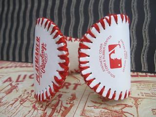 Baseball Cuff: Metal Lining! 2