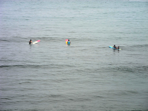 Optimistic Surfers