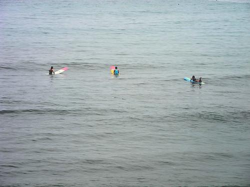 Optimistic Surfers