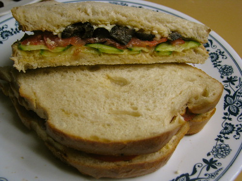Greek sandwich