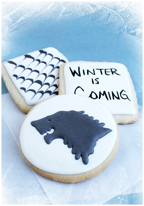Bumbleberry Cakes: Game of Thrones: Winter is Coming!