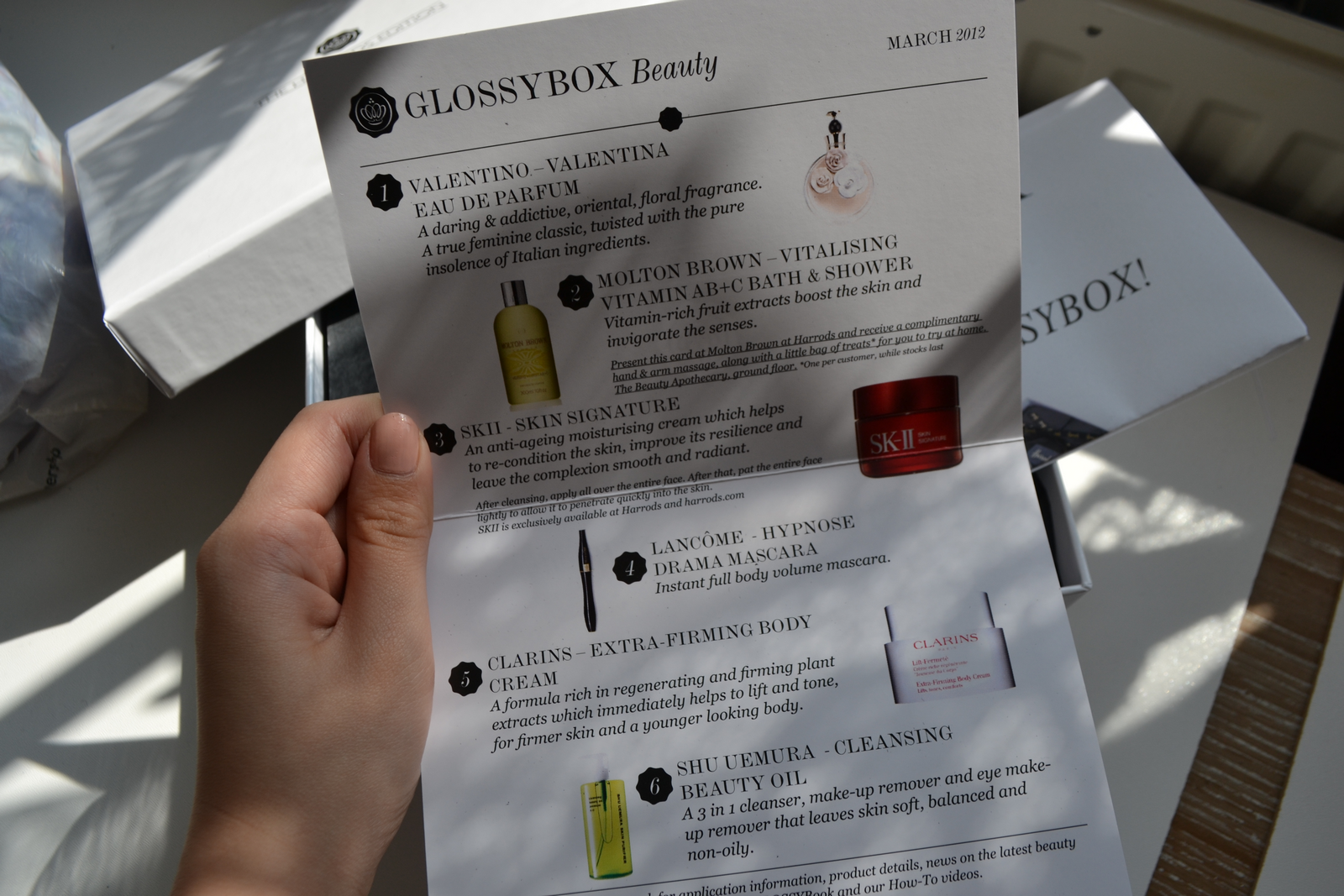 daisybutter - UK Style Blog: glossybox march 2012, harrods edition glossybox