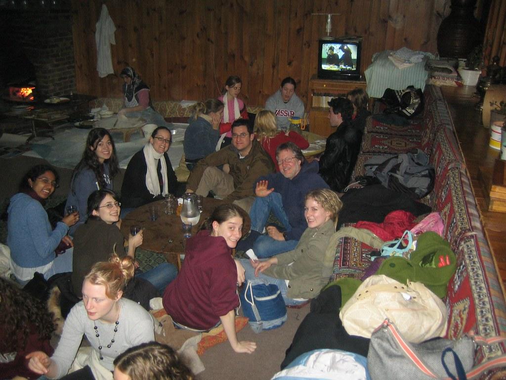 Vassar College Women's Chorus visits an Ottoman Village during its tour of Turkey