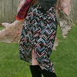 ethnic print dress from Method in Houston