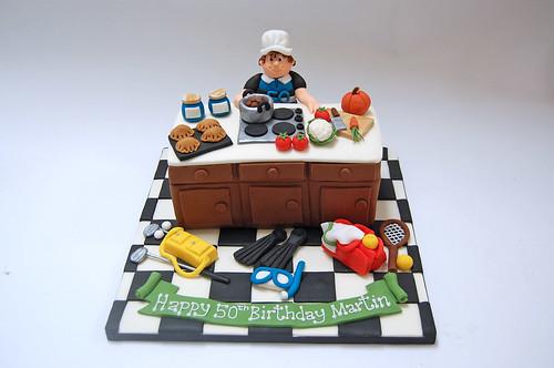 Sporty Chef Cake Beautiful Birthday Cakes