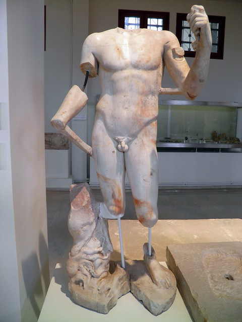 Statuette of Poseidon, from the sanctuary of Isis, 2nd c. AD, Archaeological Museum, Dion