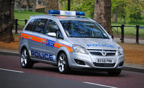 Metropolitan Police / Vauxhall Zafira / SO14 Incident Response Vehicle / BSV / BX58 PNK
