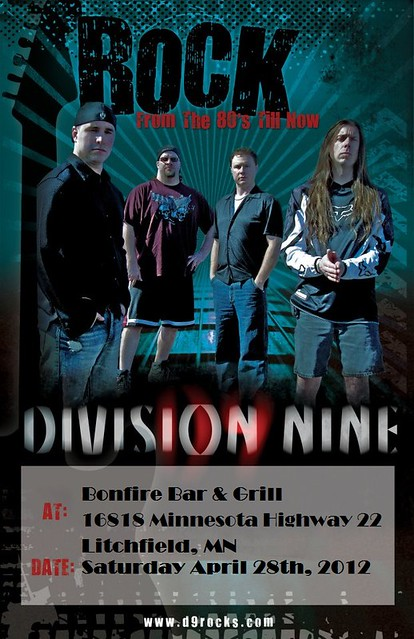04/28/12 Division Nine @ Bonfire Bar & Grill, Litchfield, MN