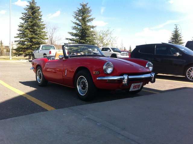 1970 Triumph Spitfire | Flickr - Photo Sharing!