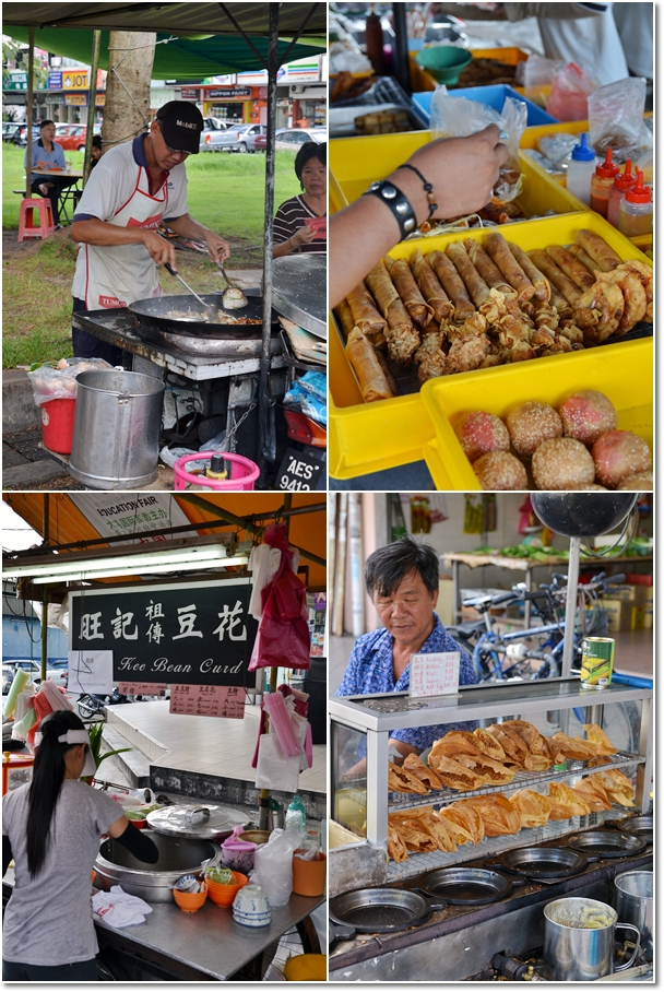 Various Street Food @ Bercham