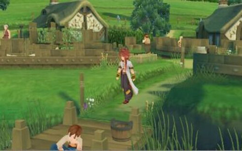 Tales of the Abyss - village